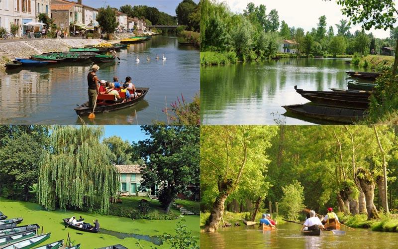 Villa-vendee - Vakantievilla in de Vendée - Les Jardins des Sables d'Olonne - Marais Poitevin compositie