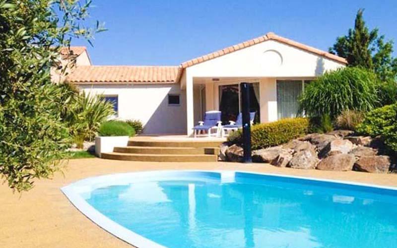 Villa-vendee - Vakantievilla in de Vendée - Les Jardins des Sables d'Olonne - Villa Acacia nr 114