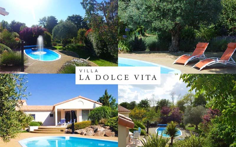 Villa-vendee - Vakantievilla in de Vendée - Les Jardins des Sables d'Olonne - Villa Acacia nr 114 compositie