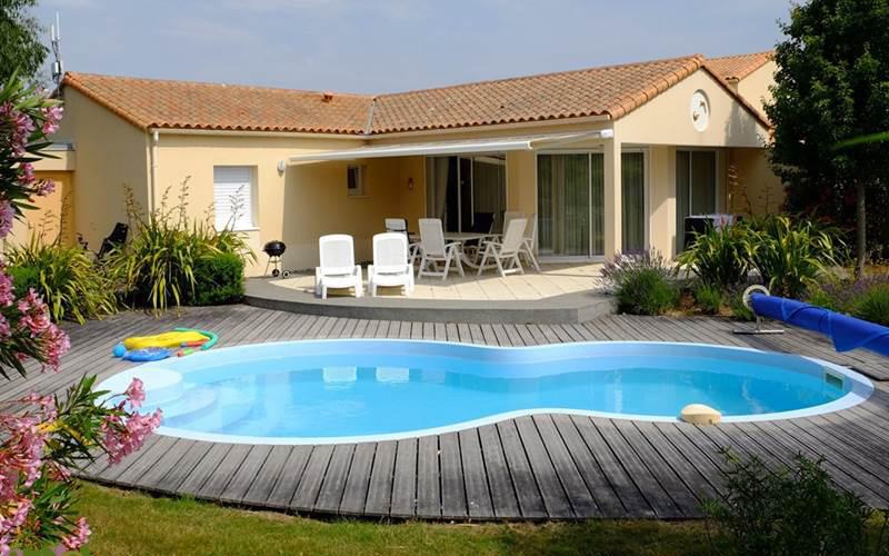 Villa-vendee - Vakantievilla in de Vendée - Les Jardins des Sables d'Olonne - Villa Acacia nr 28