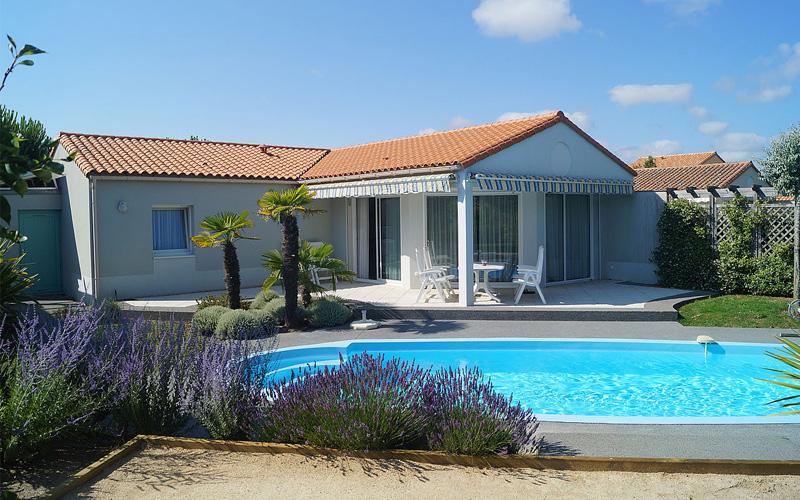 Villa-vendee - Vakantievilla in de Vendée - Les Jardins des Sables d'Olonne - Villa Acacia nr 30