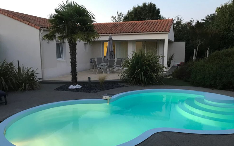 Villa-vendee - Vakantievilla in de Vendée - Les Jardins des Sables d'Olonne -Villa Acacia nr 56