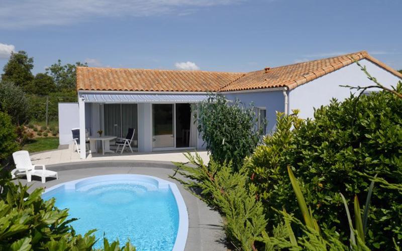 Villa-vendee - Vakantievilla in de Vendée - Les Jardins des Sables d'Olonne - Villa Acacia nr 57