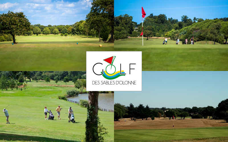 Villa-vendee - Vakantievilla in de Vendée - Les Jardins des Sables d'Olonne - Golfbaan compositie
