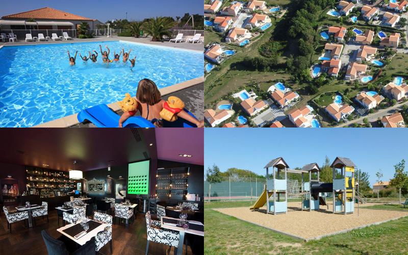 Villa-vendee - Vakantievilla in de Vendée - Les Jardins des Sables d'Olonne - Park compositie