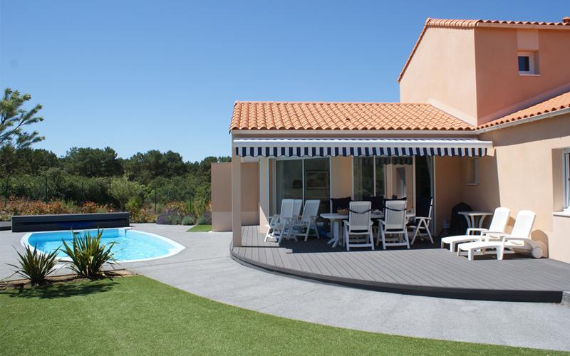 Villa-vendee - Vakantievilla in de Vendée - Les Jardins des Sables d'Olonne - Villa Sophora nr 21