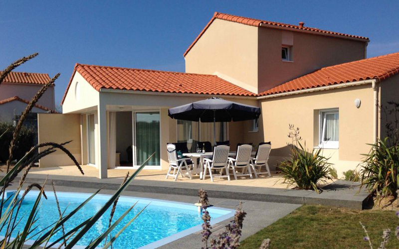Villa-vendee - Vakantievilla in de Vendée - Les Jardins des Sables d'Olonne Villa Sophora nr 26