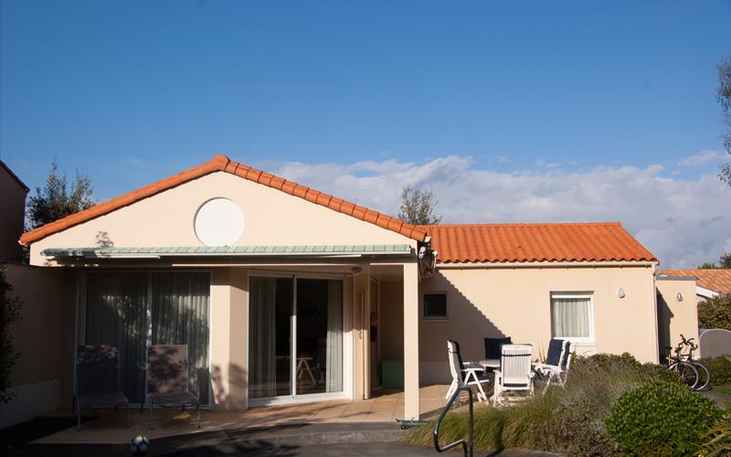 Villa-vendee - Vakantievilla in de Vendée - Les Jardins des Sables d'Olonne - Villa Acacia nr 117 front
